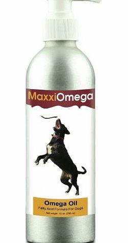 Maxxi dog omega oil for dogs maxxiomega fatty acid for Liquid fish oil for dogs