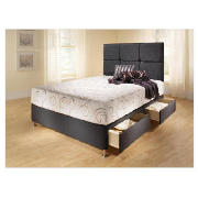 Mayfair divan beds for Double divan bed base with 4 drawers