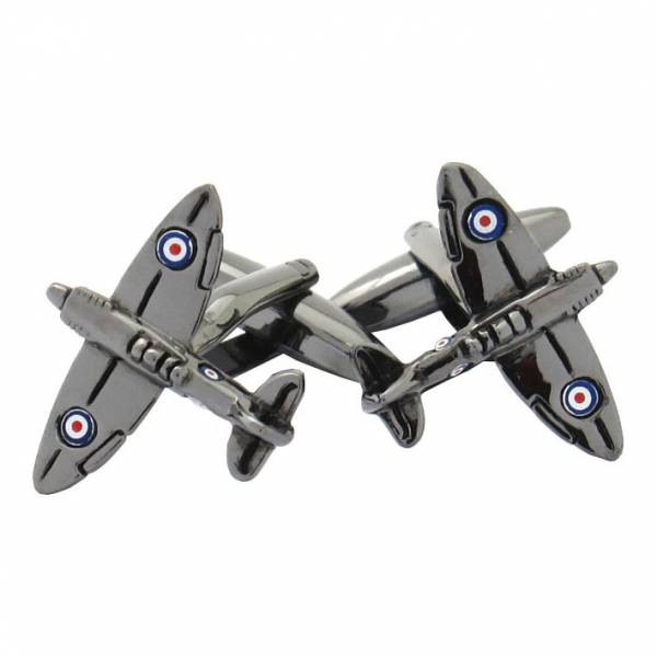 Maze Fighter Plane Cufflinks product image