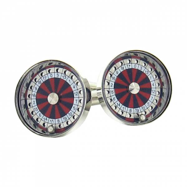 Maze Roulette Wheel Cufflinks product image