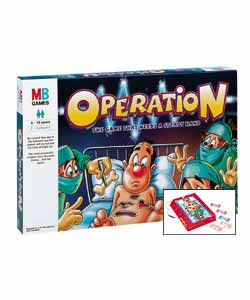 MB Games Operation product image