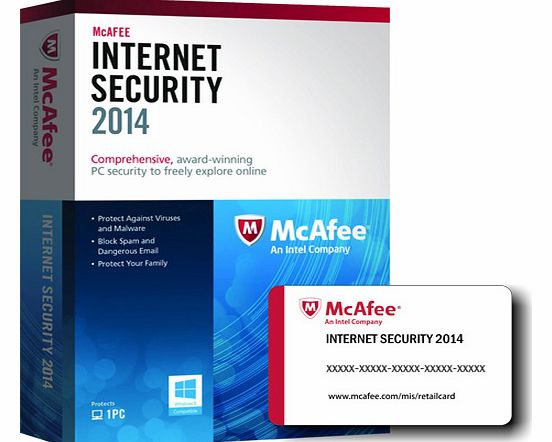 McAfee Internet Security 2014 (PC) - 1 User