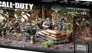 Mega Bloks CNC67 A Call of Duty Jungle Troopers Building Set
