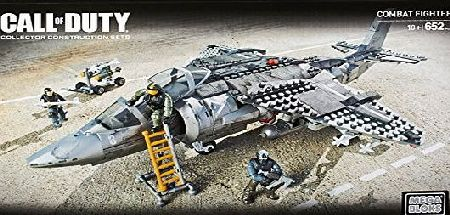 Mega Bloks Collector Series - Call of Duty Strike Fighter Plane - Building Construction Set Toy