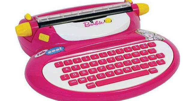 Mehano Barbie Electronic Typewriter with adapter product image