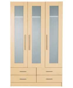 Door Hanging Wardrobe 4 Drawer Chest And 3 Drawer Bedside