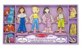 Melissa and Doug Best Friends Forever Magnetic Dolls
