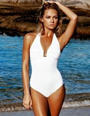 Melissa Odabash, 1295[^]273735 Tampa One Piece - White