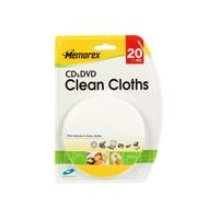 memorex CD/DVD Clean Cloths - Cleaning cloths product image