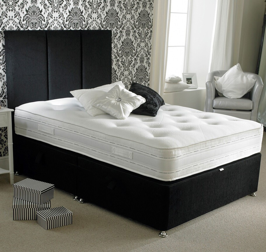 Tempo mattress for King size divan bed with memory foam mattress