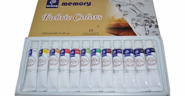 Memory Professional Artists Fabric Paint Set