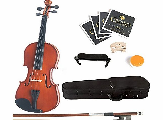 1/2MV200+SR Size 1/2 Acoustic Violin - Varnish