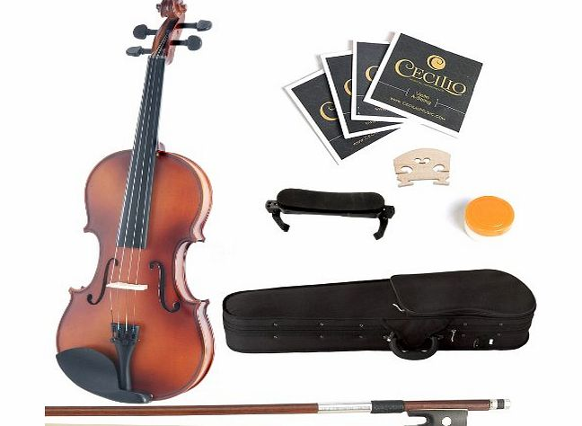 1/8MV300+SR Size 1/8 Acoustic Violin - Satin