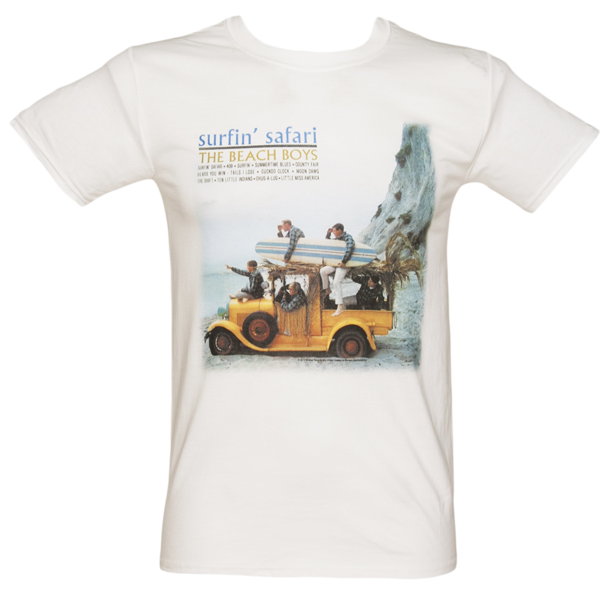 Mens Beach Boys Surfin Safari Photo T-Shirt product image