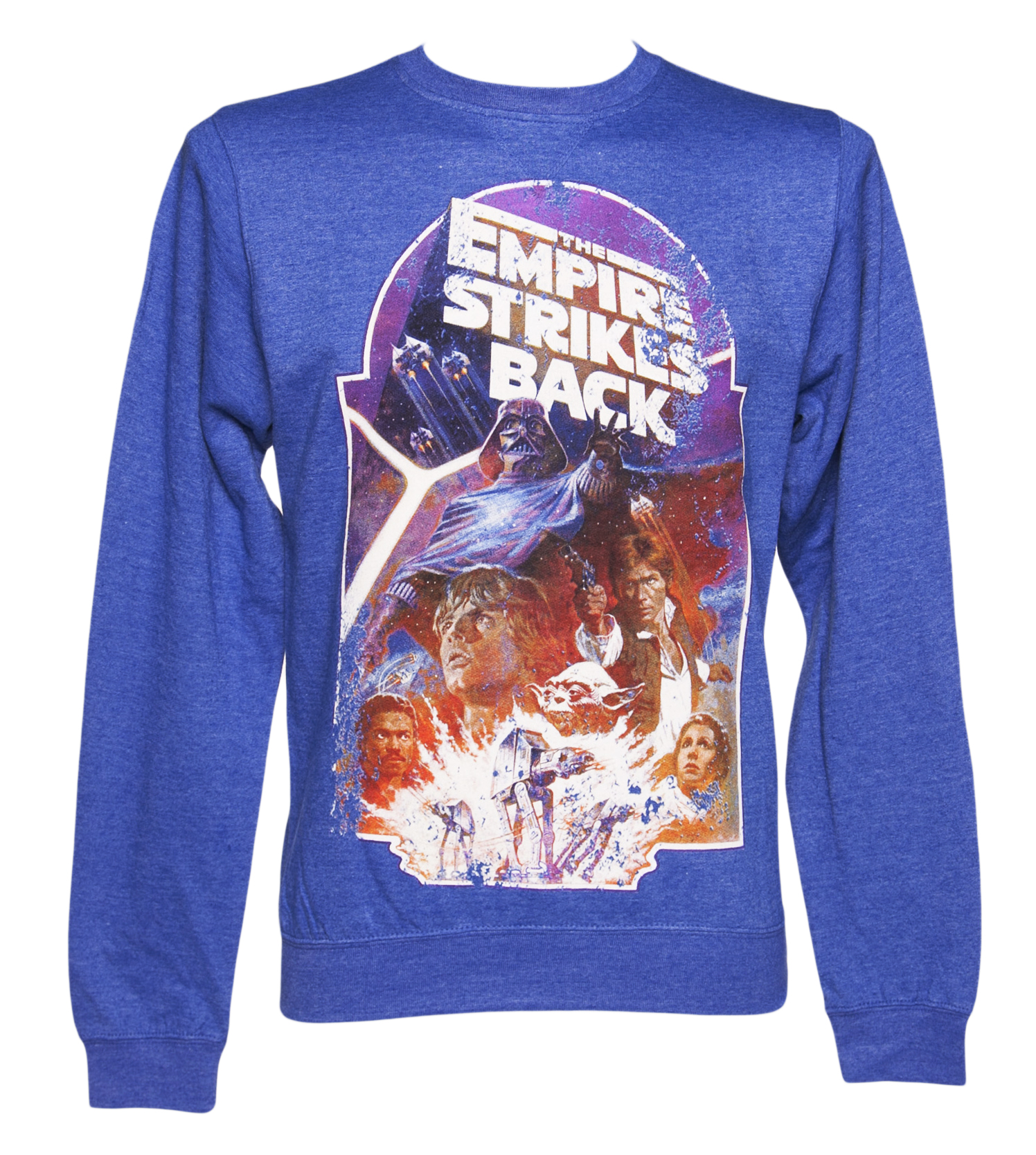 Mens Blue Marl Empire Strikes Back Star Wars product image