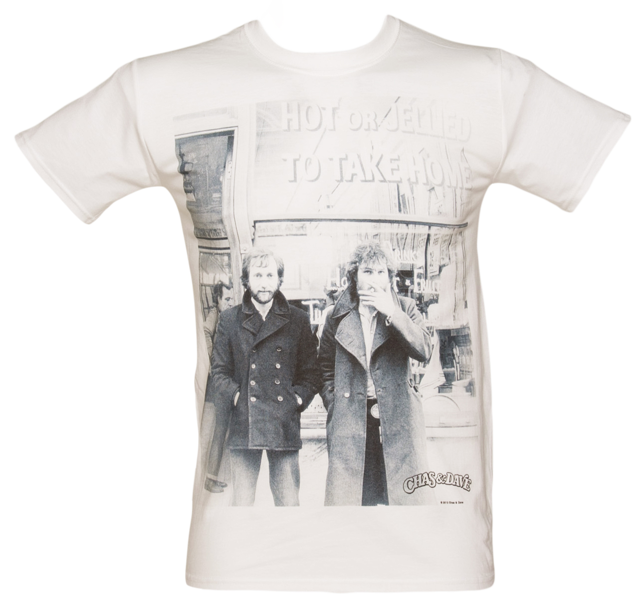 Mens Chas and Dave Hot Or Jellied T-Shirt product image