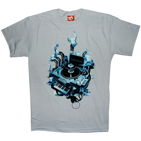 Mens Clothing Exact Science Dream Mahine Ice Grey T Shirt Review Compare Prices Buy Online