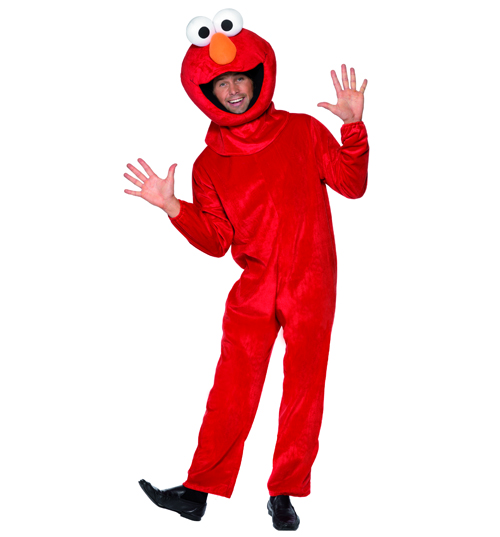 Mens Elmo Sesame Street Fancy Dress Costume product image