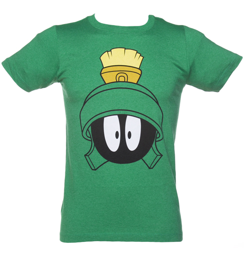 Green Marvin The Martian T-Shirt