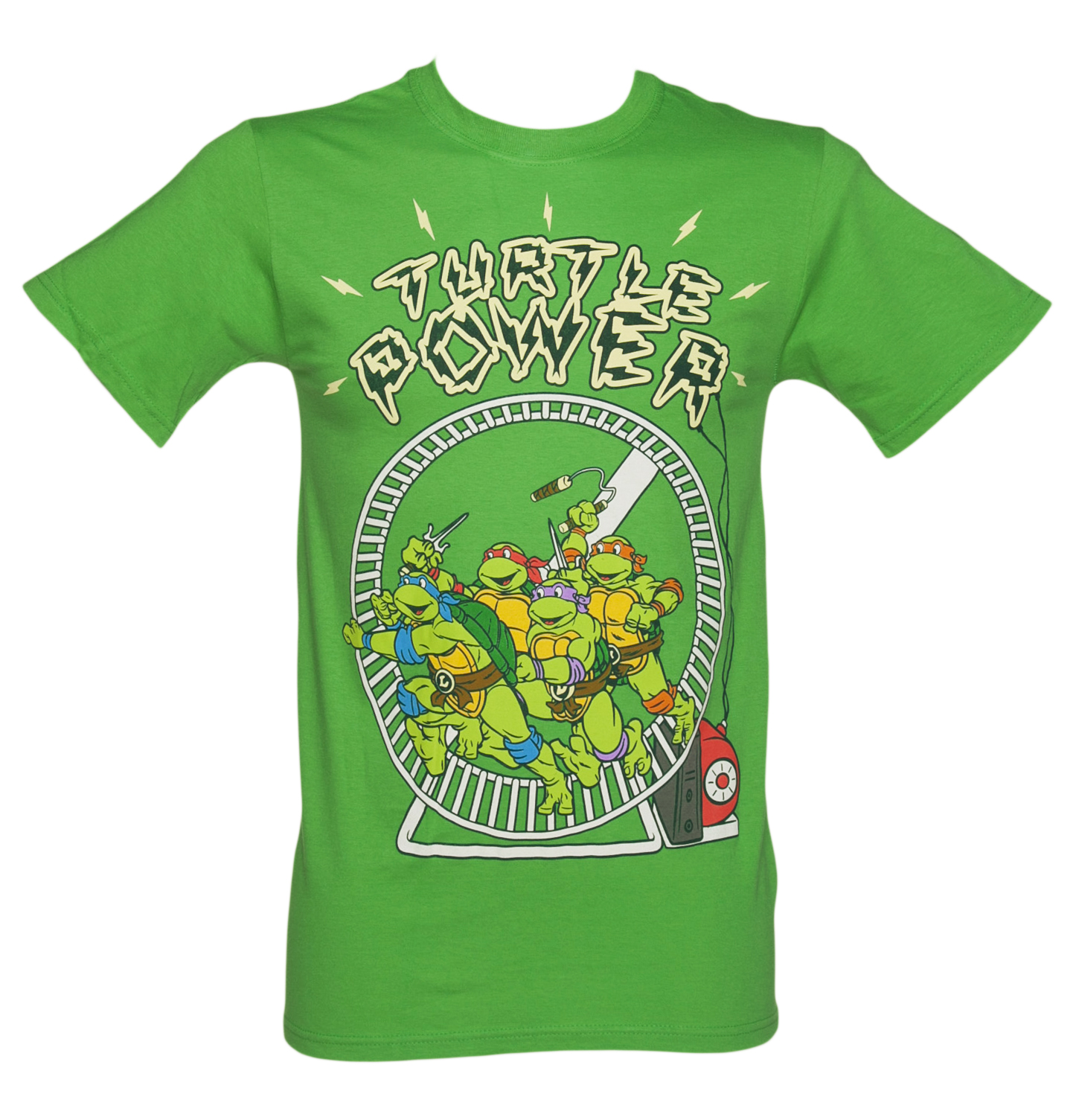 Mens Green Turtle Power Teenage Mutant product image