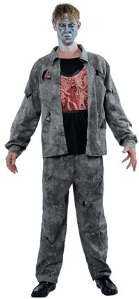 Mens Halloween: Value Zombie
