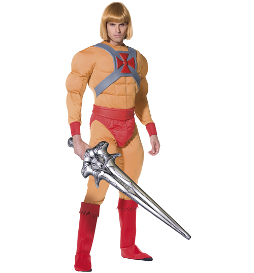 mens He-Man Fancy Dress Costume product image