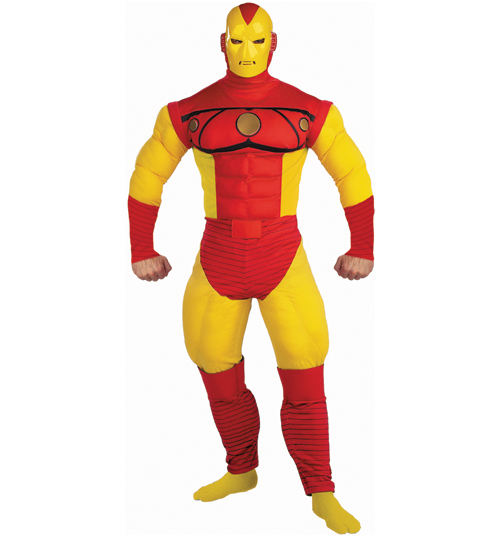 mens Iron Man Fancy Dress Costume product image
