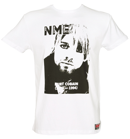 Mens Kurt Cobain NME Cover T-Shirt