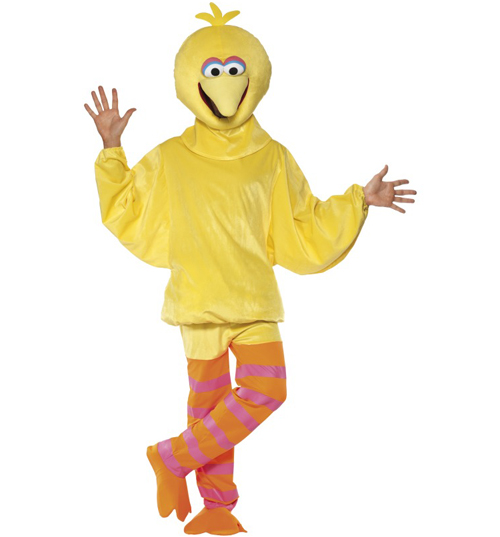 Mens Sesame Street Big Bird Fancy Dress product image
