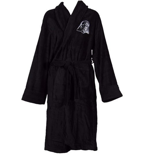Mens Star Wars Darth Vader Helmet Bath Robe product image