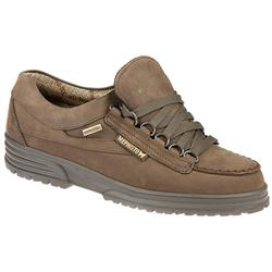 Female Savana Leather Upper Textile Lining Casual Shoes in Brown Nubuck