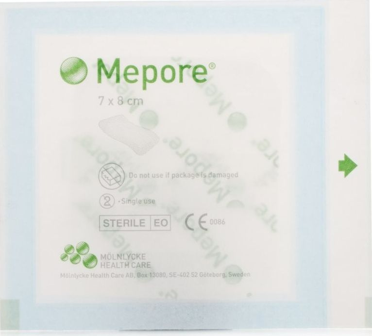 Mepore, 2102[^]0007770 Self-Adhesive Dressing 7x8cm - 55 Pack