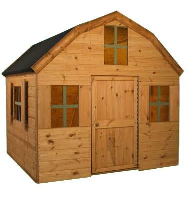 Mercia Garden Products Dutch Barn Wooden Playhouse
