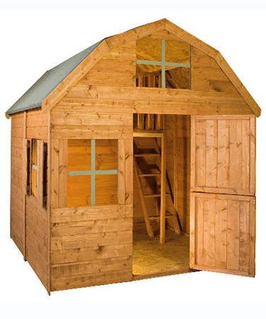 Mercia Garden Products Two Storey Dutch Barn Playhouse product image