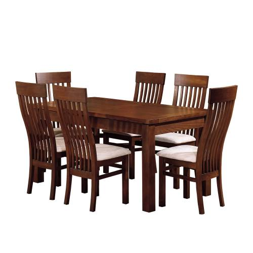 Dining table 160cms and 6 chairs Comeaux furniture