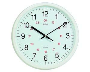 Black Hands Wall Clock