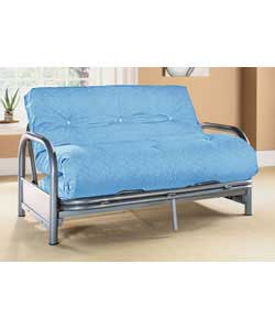 Tubular steel frame.Mattress with 100% cotton cover.Suitable for general use.Packed flat for home - CLICK FOR MORE INFORMATION