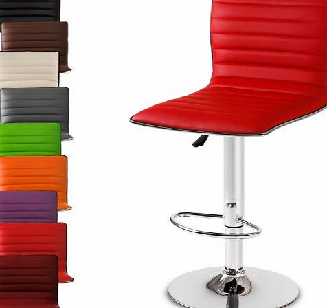 LBHK05 Bar Stool DIFFERENT COLOURS (Red)