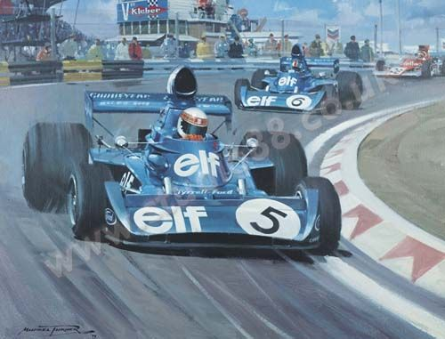 Michael turner 1973 dutch grand prix jackie stewart Micheal motors