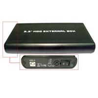 Micro Direct NEWLINK USB 2.0 EXTERNAL 3.5 SATA HDD ENCLOSURE product image