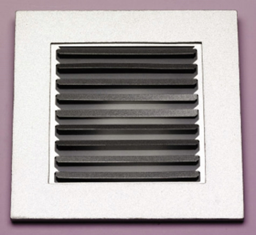 GU10 Square Louvered Downlight