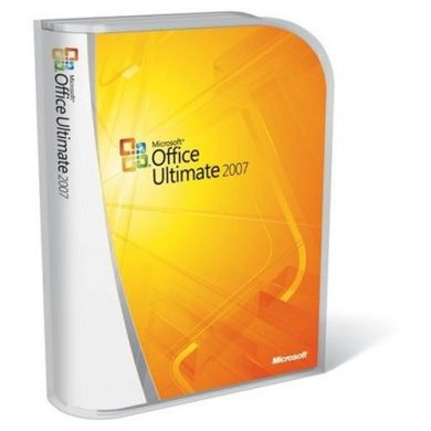 Office 2007 Ultimate - Retail Boxed