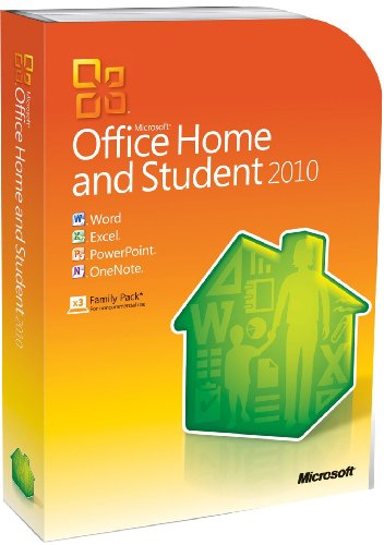 Office Home and Student 2010 (3 Users, PC)
