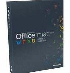 Office Mac 2011 Home and Business 2011 - 1PC/1User (Disc Version)