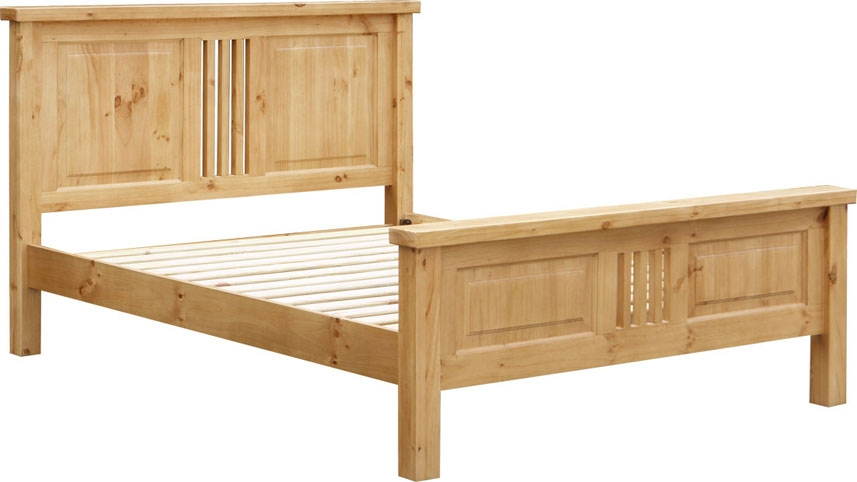 Pine Bedstead - Double or King Size (King