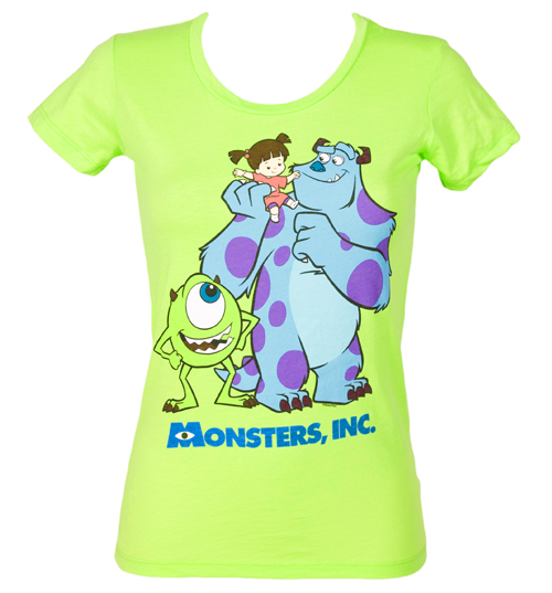 Mighty Fine Ladies Monsters Inc Bunch T-Shirt from Mighty Fine