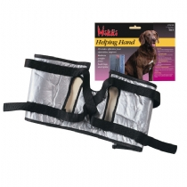 This product enables the handler to take much of the weight off the hind legs whilst allowing the front legs to function normally. Thus allowing the dog to exercise which will aid circulation during a convalescent period. Mikki Helping Hands provides - CLICK FOR MORE INFORMATION