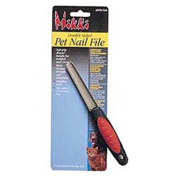 Double sided pet nail file - suitable for cats and dogs. - CLICK FOR MORE INFORMATION