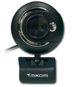 Mikomi 1.3Mp Mic and Zoom Webcam