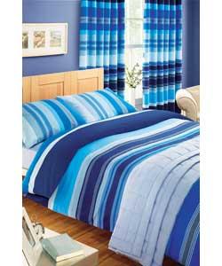 Duvet Covers Blue Stripe Duvet Cover Set Si